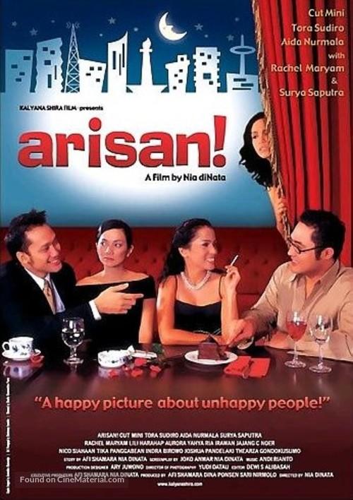 arisan indonesian movie poster