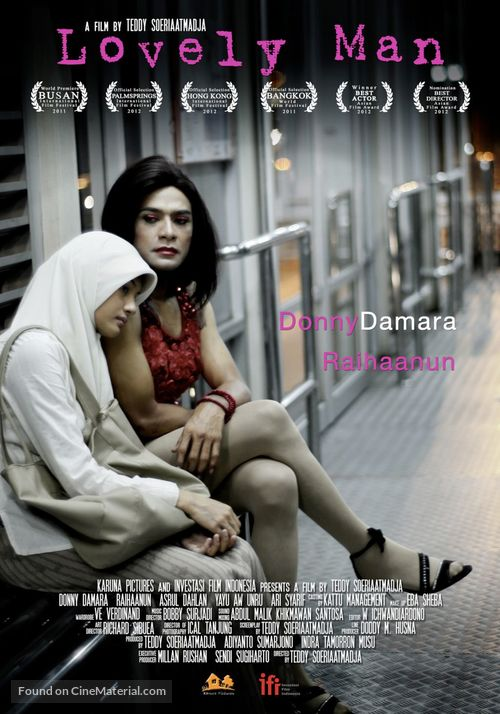 lovely man-indonesian movie poster